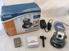 D-Link DCS-5300 10/100 fast Ethernet Pan Tilt & Zoom Internet Security Camera