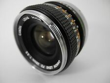 CANON 28/3.5 FD LENS PERFECT GLASS SMOOTH FOCUS TESTED WORKS PERFECTLY