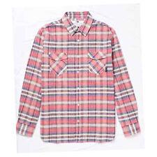 Fourstar Skateboards Clothing Boys Long Sleeve Check Shirt Red 8-9 yrs Clearance