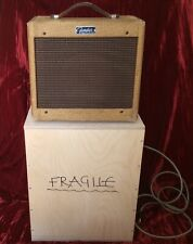"Vintage Fender Champ 1962 Original 5F1 5w-1x6"" Guitar Tube Amp Ser No C18252 VG"