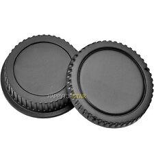 Camera Body Cap Rear Lens Cover for Canon EF 17-40mm USM 24-70/2.8L II 760D 800D