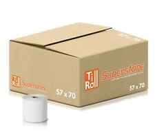 More details for 20 rolls 57x70 thermal paper till rolls for paypoint one terminal fast n free