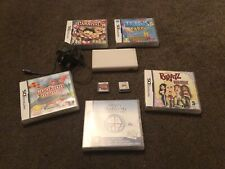 Nintendo DS Lite White Console And X 7 Games Bundle