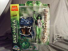 Marvel Select She-Hulk Wizard World Tour Fan Choice Exclusive 2005 MOC