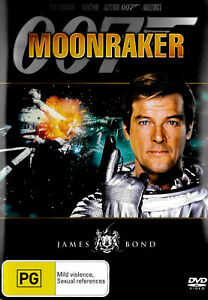 Moonraker -Rare Aus Stock Comedy DVD -Excellent