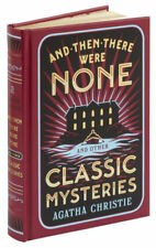 *New LeatherBound* AND THEN THERE WERE NONE & CLASSIC MYSTERIES Agatha Christie