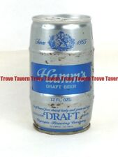 1970s WASHINGTON Olympia HAMM'S DRAFT BEER can Barrel Contoured Tavern Trove