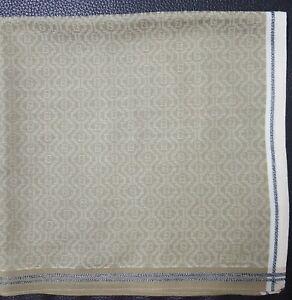 """FENDIUnisex Vintage ZigZag Pattern Cotton Thin Handkerchief 18"""""""