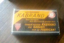 Boite de rasoirs KABRAND munie de 5 rasoirs