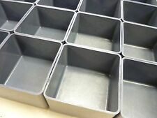 "64 3""x3""-1-3/4"" Plastic boxes fit Lista Stanley Waterloo toolbox organizer"