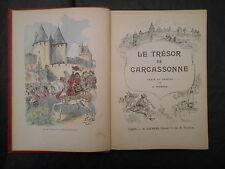 Le Trésor de Carcassonne ROBIDA éd Laurens EO