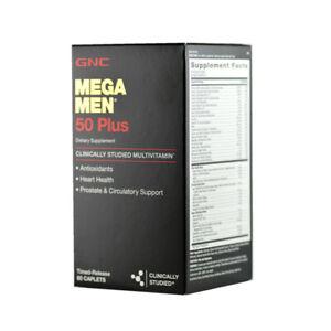 GNC MEGA MEN® 50 PLUS 60 caplets