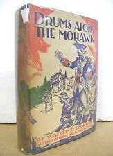 Drums Along The Mohawk by Walter D. Edmonds 1936 HB/DJ Signed First Edition