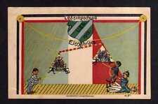 115645 AK Mannheim 1913 Lessingschule Einjähriges Studentika Künstlerkarte