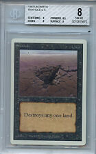MTG Unlimited Sinkhole Magic WOTC BGS 8 NM-MT Mint Magic  Card Amricons 5670