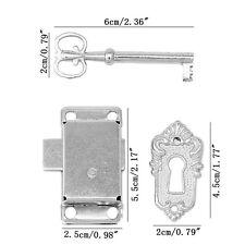 Vintage Durable Classical Drawer Cabinet Wardrobe Cupboard Door Alloy Lock + Key