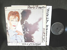 david bowie scary monsters orig '80 lp w/lyric inner rca pl13647 black label !!
