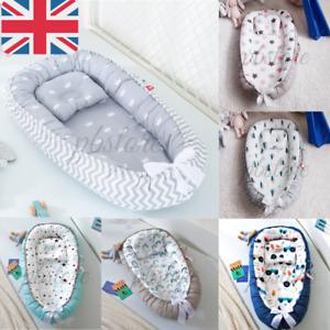 Newborn Baby Nest Pod Cocoon Infant Portable Sleep Travelling Cushion Bed Set