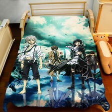New Anime Bungou Stray Dogs Sheet Bedspread Bed Cover Coverlet Quilt Cover
