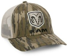 RAM Mossy Oak Original Bottomland / Putty Mesh-Back Camo Hunting Cap