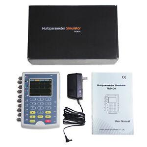 Promotion FDA Portable Multi-parameter Patient Simulator 3.5'' ECG Simulator,CE