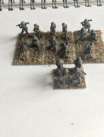 15mm wwii Old Glory Command Decision painted British light machine guns