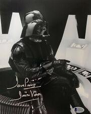 Dave Prowse Signed Star Wars Darth Vader 8 x 10 Photo - Auto Beckett BAS COA 7