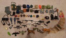 60+ Hasbro Vintage GI Joe Accessory Lot Accessories