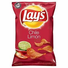NEW LAYS CHILE LIMON FLAVORED POTATO CHIPS 7.75 OZ BAG FREE WORLD WIDE SHIPPING