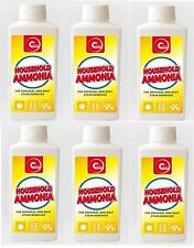 6x ESSENTIAL POWER HOUSEHOLD AMMONIA BEST STAIN REMOVER CLEANER 500ML 6 PACK