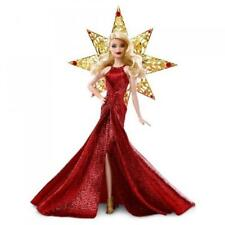 NEW HOLIDAY MATTEL 2017 BARBIE DOLL RED BLONDE NIB COLLECTIBLE RARE COLLECTOR