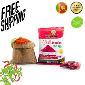 Ceylon Red Chili Pepper Powder New 100%Pure Organic seasoning Herbs & Spice 100g
