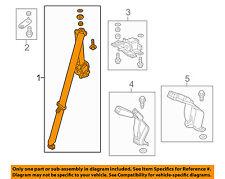 HONDA OEM 15-16 Fit Rear Seat Belt-Outer Assy Left 04828T5RA00ZA
