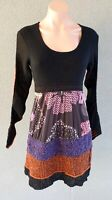 SALE ❤️ BNWT T-STUDIO THERAPY Long Sleeve A-Line Dress Size 44 FREE POSTAGE L707