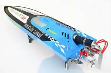 65Km/h 30CC Engine Gas 2.4G RC Racing Speed Boat G30C Monohull Vee ARTR Blue