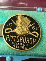 1966 Phantom Pittsburgh Pirates World Series Press Pin Tietack  (PL1)