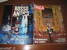 EPOCA 1971/1107=IL QUIRINALE MAI VISTO=IVANO BORDON=FRANCESCO MESSINA=