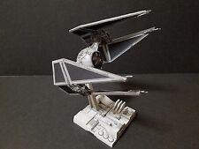 Pro built Star Wars Bandai 1/72 Star Wars Tie Fighter Tie Interceptor