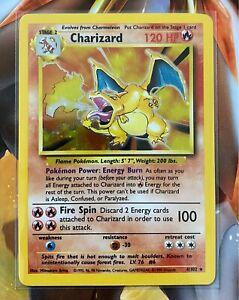 Pokemon Charizard Holo Base Set Unilimited