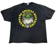 2002 WWE John Cena Original Chain Gang Double Sided T Shirt Size Men's 3XL