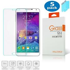 5x Nacodex for Samsung Galaxy J5 2015 HD Tempered Glass Screen Protector 0.3mm