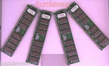 128 MB MEG 4x 32MB EDO SIMM 72 pin 60 ns 60NS NON-PARITY Memory RAM 72PIN HOT G6