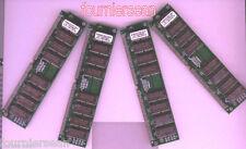 128 MB MEG 4x 32MB EDO SIMM 72 pin 60 ns 60NS NON-PARITY Memory RAM 72PIN GOLD!