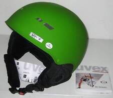 NEW! UVEX X8 SNOW SPORTS HELMET XS X-Small Green Matte Ski Snowboard