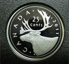 2011 Canadian Silver Proof Quarter ($0.25)