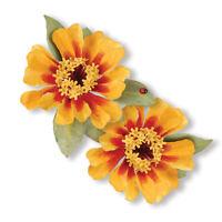 """Sizzix 659265 Susan's Garden  """"Flower, Zinnia"""" Thinlits 7 Cutting Dies  NEW"""