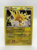 2013 Zapdos Holo Rare Reverse Legendary Treasures Pokemon Card NM 46/113