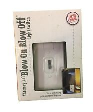 Magical Blow on Blow Off Light Switch Seniors Kids Mobile Light Switch Easy 1388