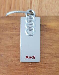 AUDI Keyring A3 A4 A5 A6 A7 A8 Q2 Q3 Q5 Q7 Q8 TT R8