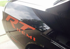 CUSTOM Decal Graphics Vinyl Vehicle Dodge RT HEMI MOPAR R/T CHALLENGER RAM 6.4L